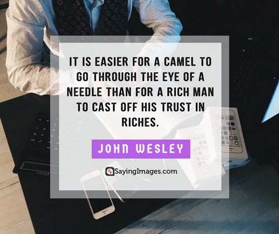 john wesley riches quotes
