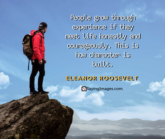 eleanor roosevelt growing quotes