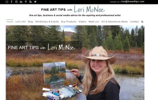 Fine-Art-Tips-with-Lori-Mcnee-Testimonial-for-Wordsrack- wordsrack.com
