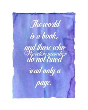 wordsremembertheworldisabook8x10photo