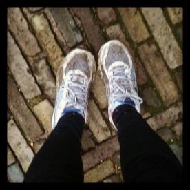 Modderige schoentjes
