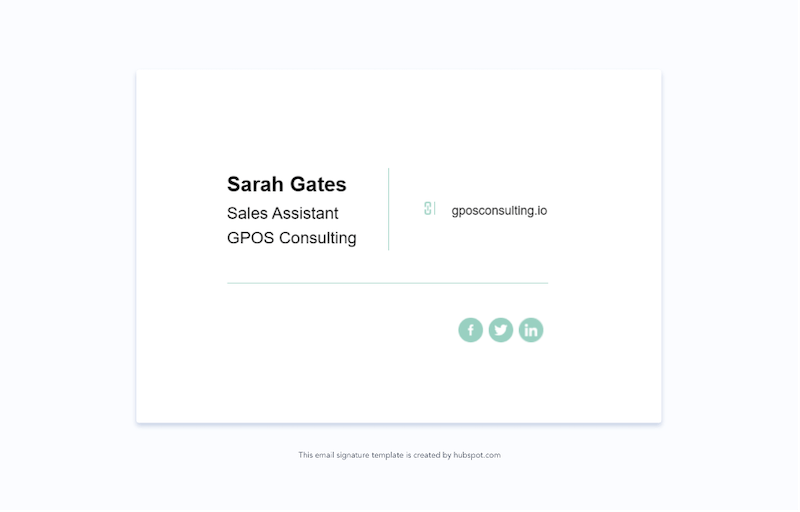 email signature marketing trends for 2021 example 6