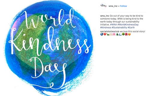 free november marketing ideas world kindness day