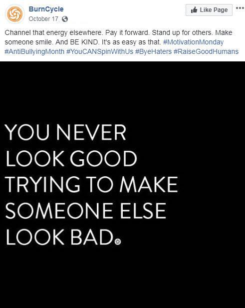 october marketing ideas anti-bullying