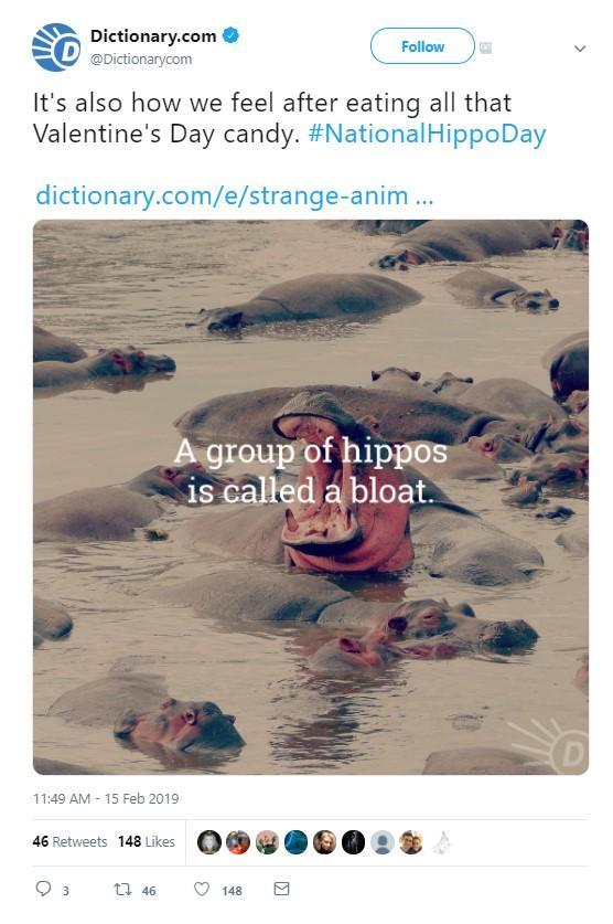 Dictionnaire.com tweet