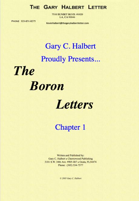 Gary Halbert Letter Hands Experience