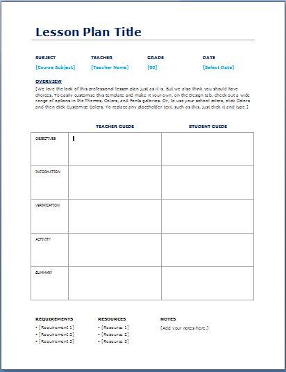 School Planner Sheets Printable