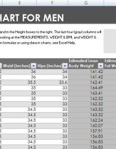Fitness and weight loss chart for men women also formal word templates rh wordtemplatesbundle