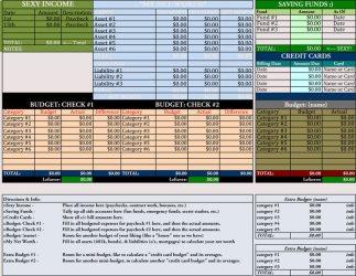 household spreadsheet budget template bills excel worksheet templates budgets easy worksheets samplesofpaystubs