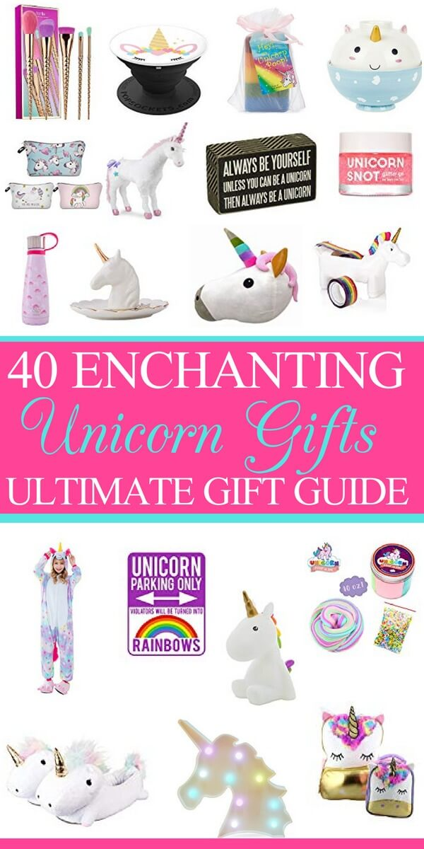 Unicorn Gifts for Girls 40 Enchanting  Magical Unicorn