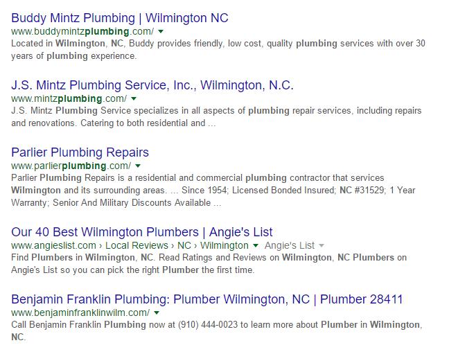 Plumbers Wilmington NC | Plumbing Repair Wilmington NC