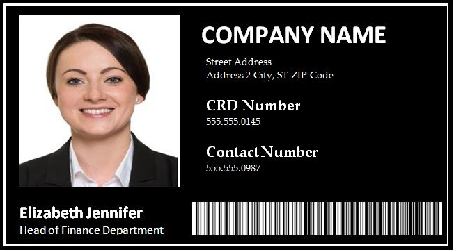 Instead, you have to apply through the state where you reside. Madness Writers Get 41 Employee Id Card Template Free Download Excel