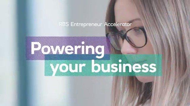 RBS Entrepreneur Accelerator Program graphic.