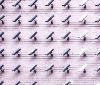 collection of security cameras