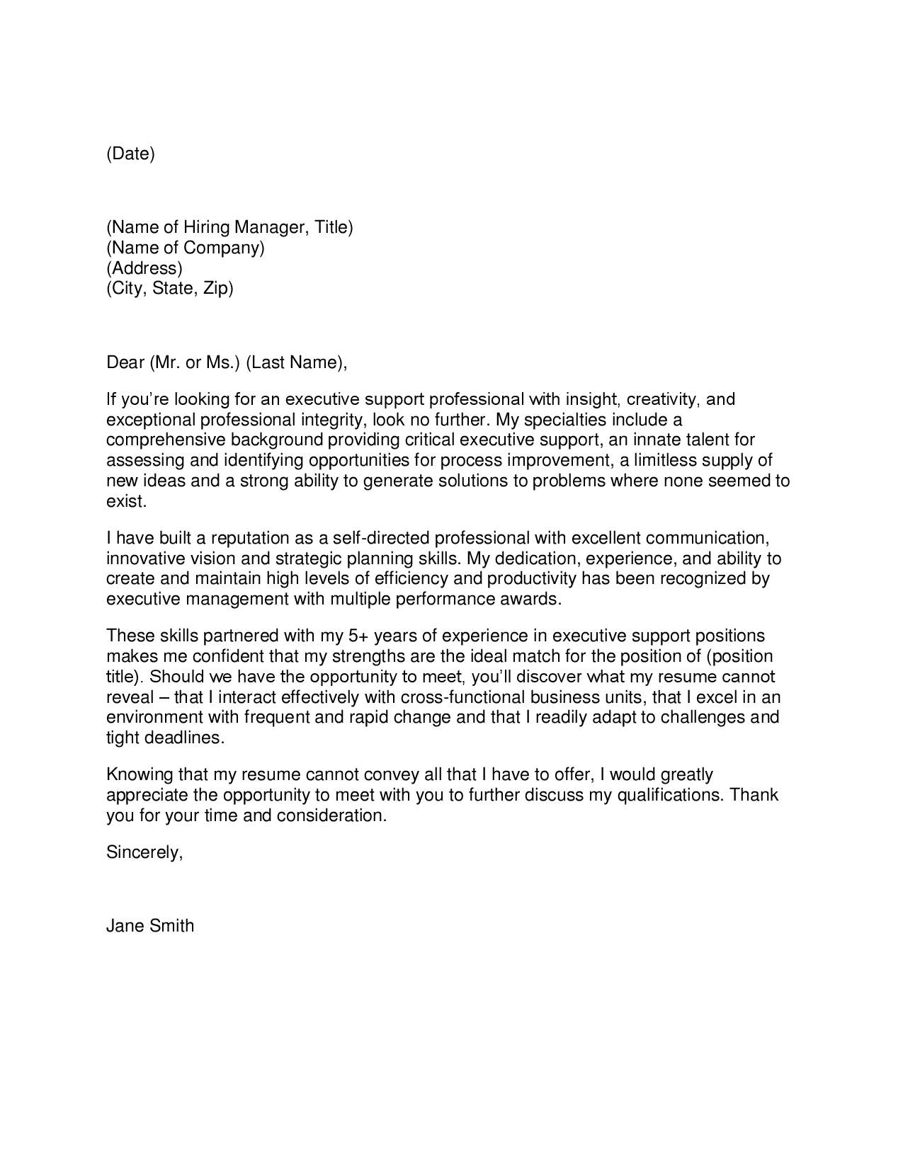 Probation And Parole Officer Cover Letter Sample