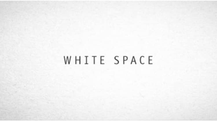 Resume White Space