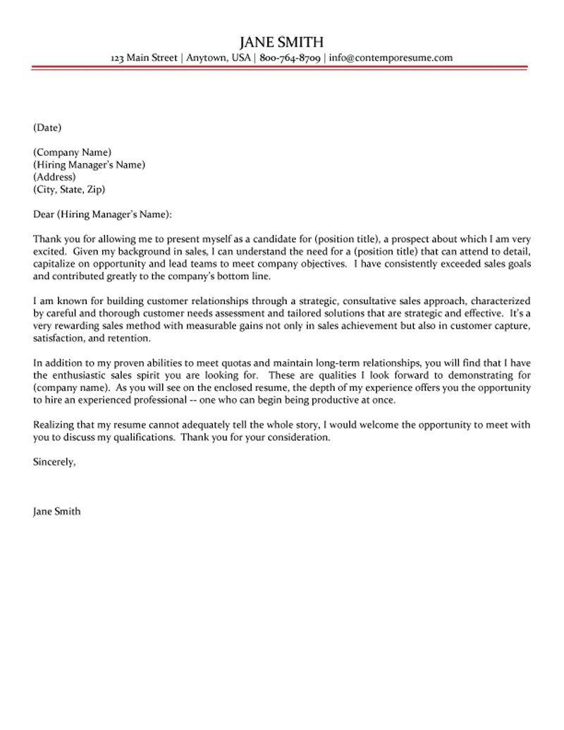 Sales Cover Letter Choice Image - Cover Letter Ideas