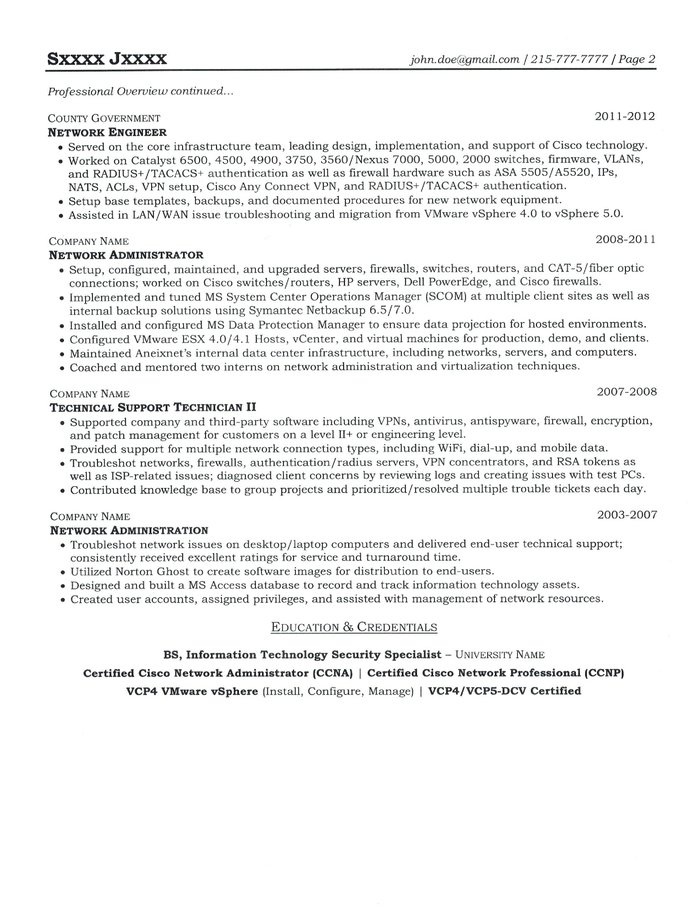 Text Version Of The System Engineer Resume Sample  System Engineer Resume