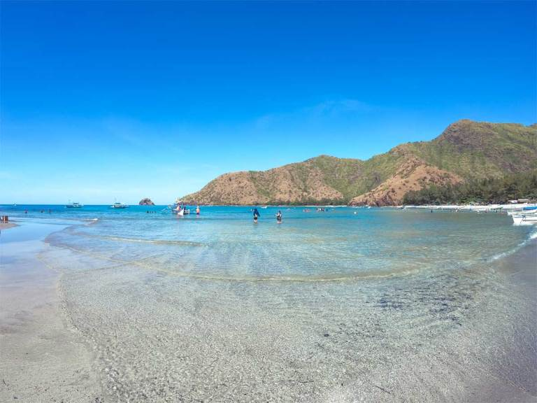 Front Beach of Anawangin Cove, Zambales