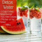 Детокс-вода зимой