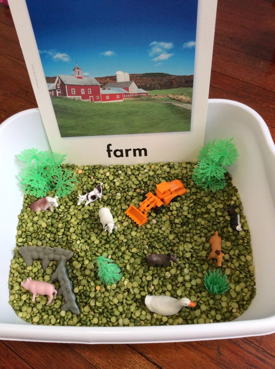 Farm Animals Theme Preschool Activities