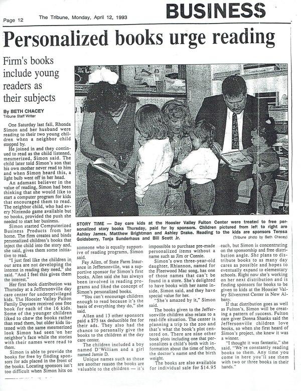 Learn To Read Program April 1993