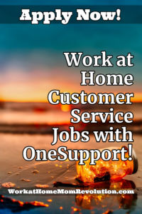 Work at Home Customer Service Jobs with OneSupport