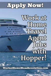 Home-Based Travel Agent Jobs Available with Hopper