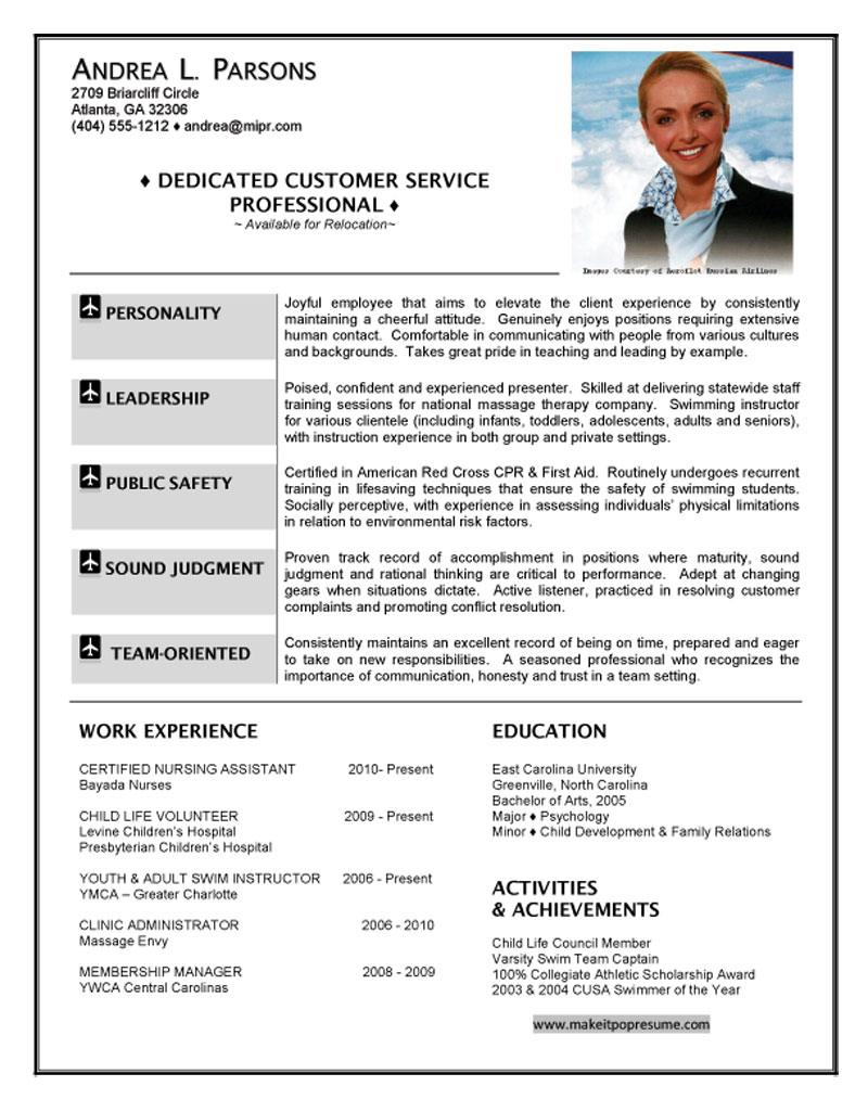 Hostess Resume Example - Examples of Resumes