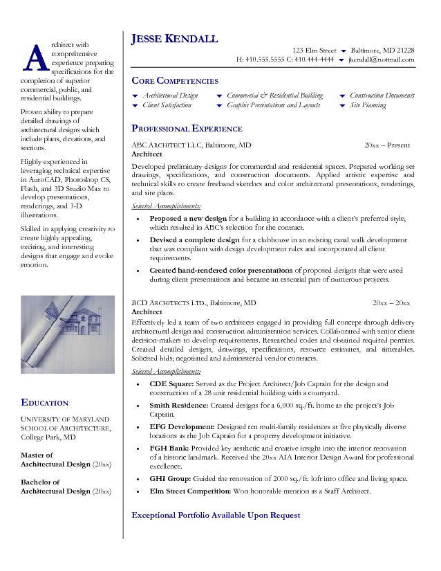 ResumeArchitect Resume 16 Free Sample Web Application Architect