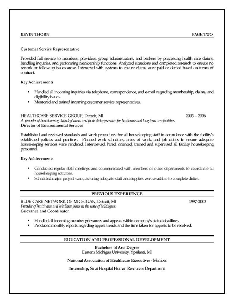 Human Resources Resumes Human Resources Specialist Resume