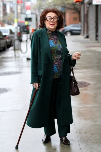 Senior Fashion And Style From Advanced Style WorkChic