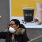 McDonald's Protestor