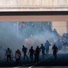 Tear gas in Philadelphia