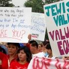 Jewish Community Action Protest