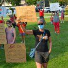 Teacher Protesting