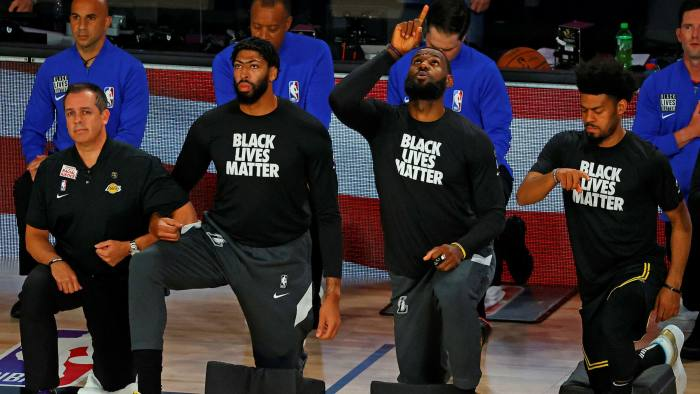 NBA Players #BLM