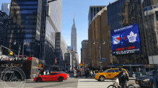 NYC city intersection
