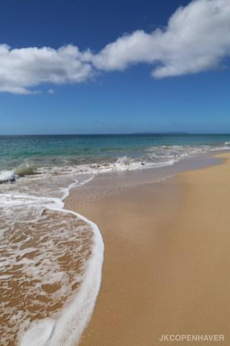 White sands beach