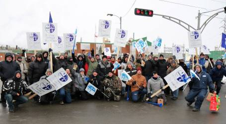Mission accomplished! Canadian Steelworkers stop Glencore attack after nine month strike
