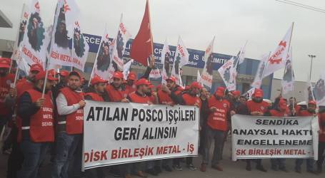 Turkey: Workers fired from Posco Assan steel plant for joining union