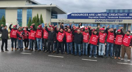 Global solidarity grows as Posco Assan fires 80 union members in Turkey