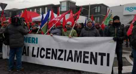 Solidarity strike in Parma in support of Nestlé-Froneri workers