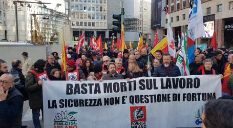 "Italian metalworkers demand: ""No more deaths at work!"""