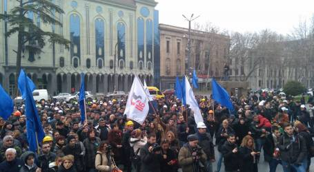 Georgian workers demand better safety at work