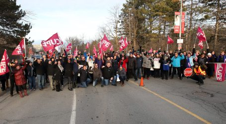 CUPE solidarity from coast to coast on display as workers at Carleton University strike