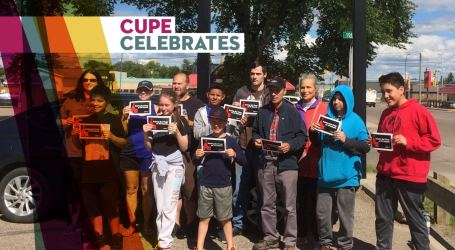 CUPE members in Manitoba celebrate major victory against P3s