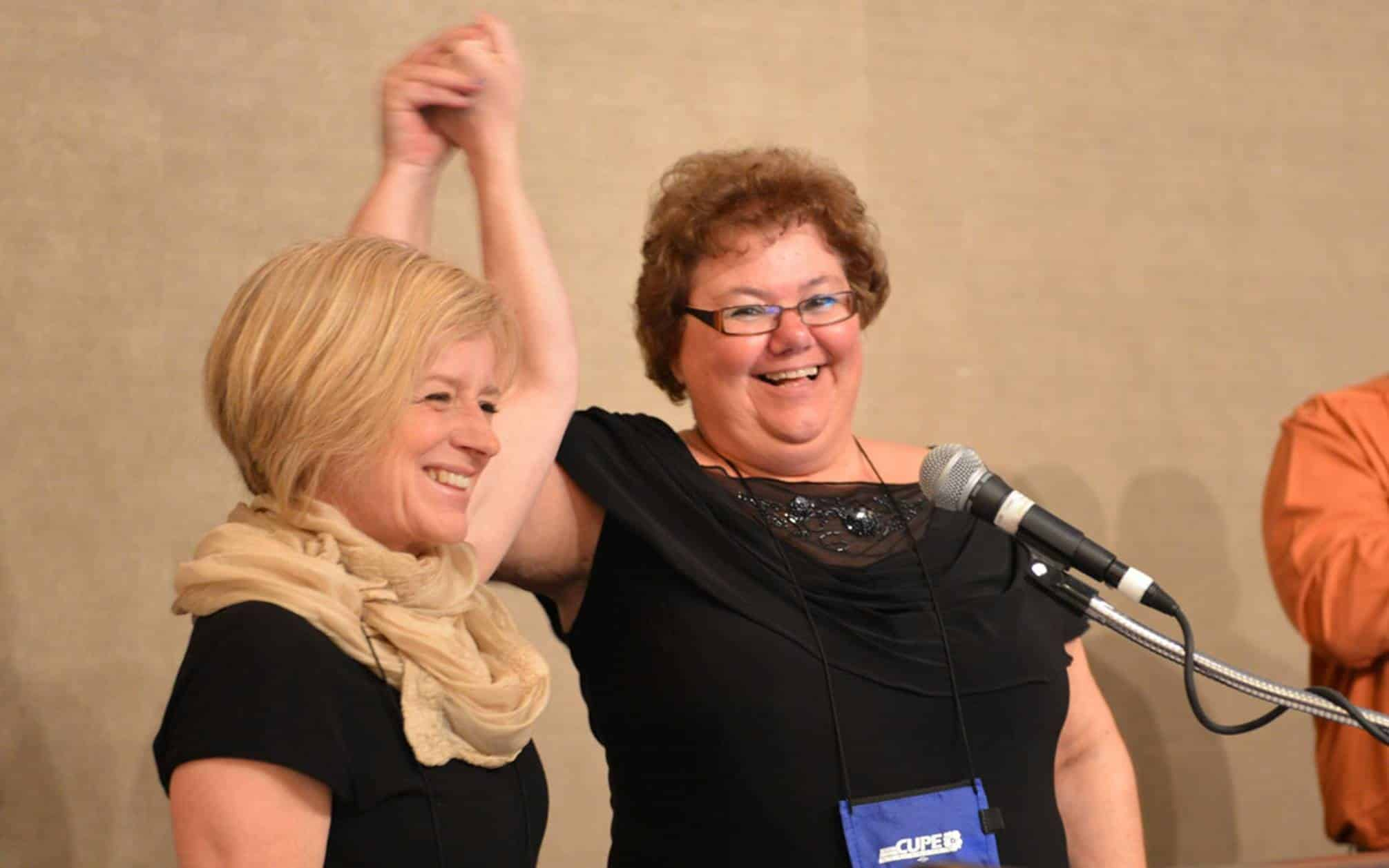 Premier Rachel Notley to address CUPE Alberta Convention