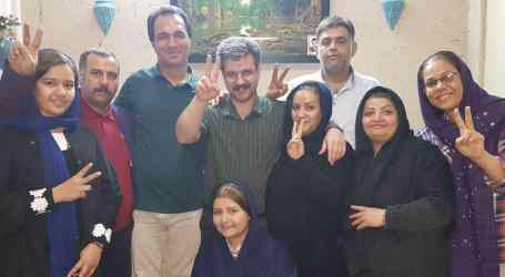 We celebrate Reza Shahabi's release today and prepare for tomorrow