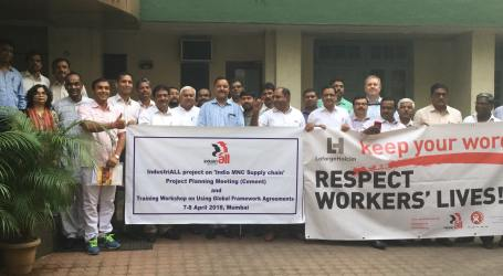 India: Cement unions call for improved health and safety in multinational corporations